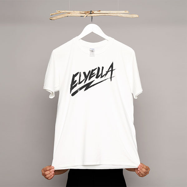 Camiseta Chico blanca ELYELLA