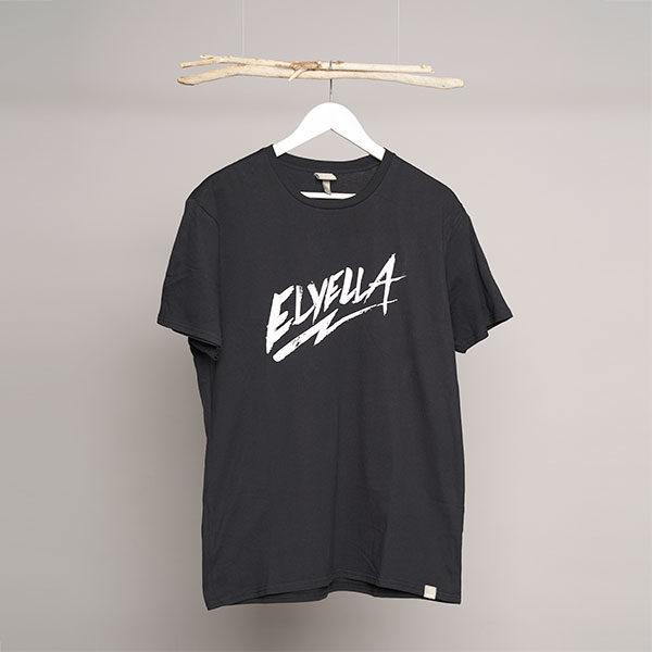 Camiseta Chico negra ELYELLA