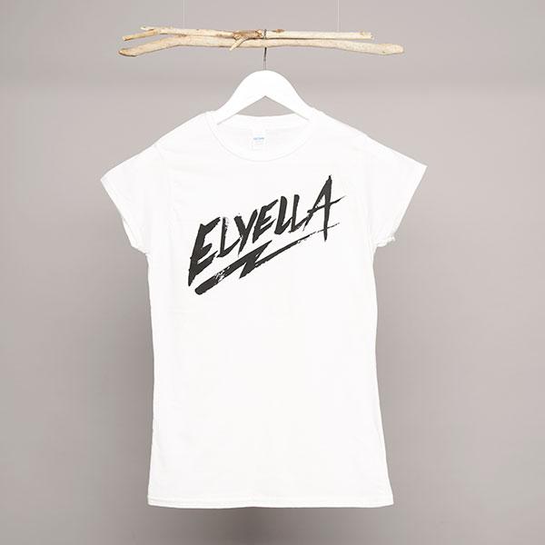 Camiseta Chica blanca ELYELLA