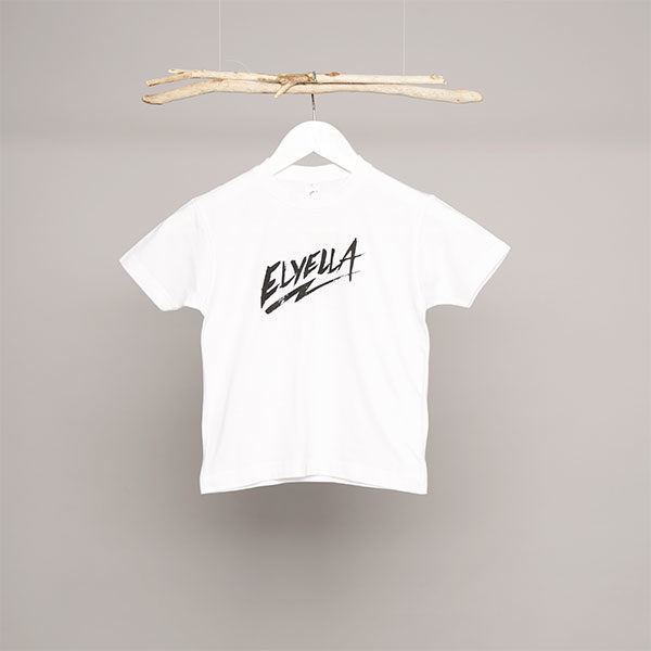 Camiseta Niño Niña blanca ELYELLA